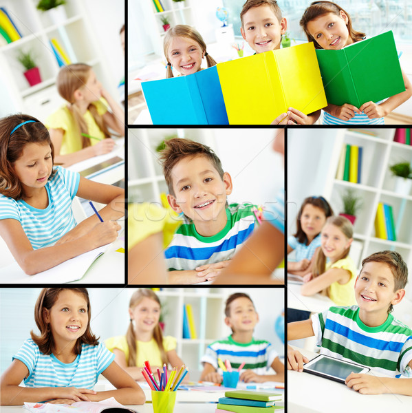 Youthful learners Stock photo © pressmaster