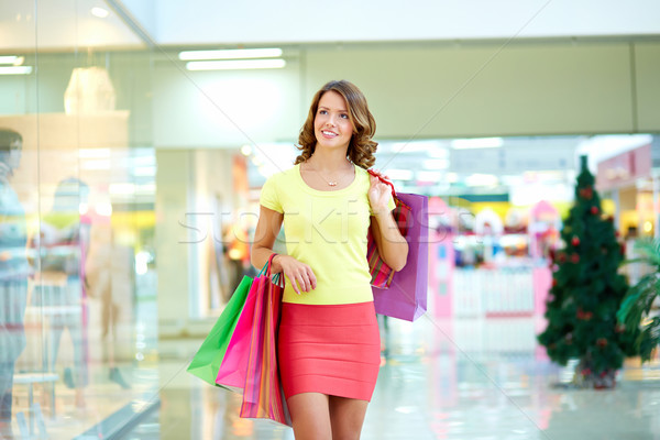 Pleasure of shopping Stock photo © pressmaster