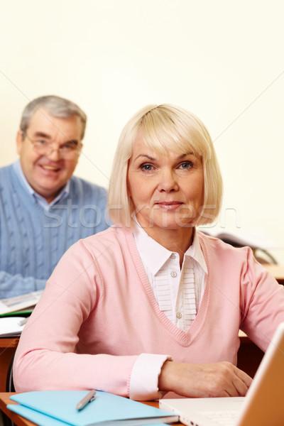 Aged student  Stock photo © pressmaster