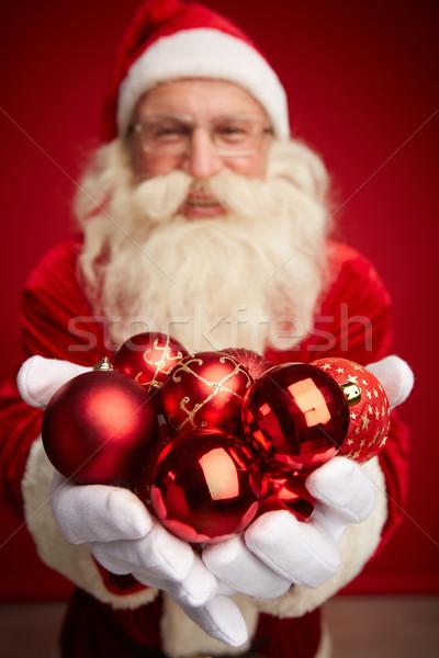 декоративный игрушку красный Сток-фото © pressmaster