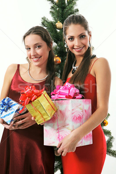 Stock photo: Two woman