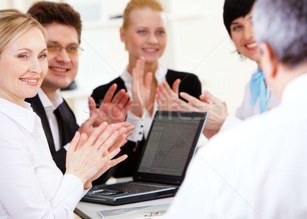 Applauding people Stock photo © pressmaster