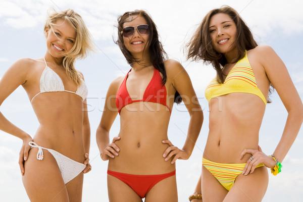 Three girls Stock photo © pressmaster