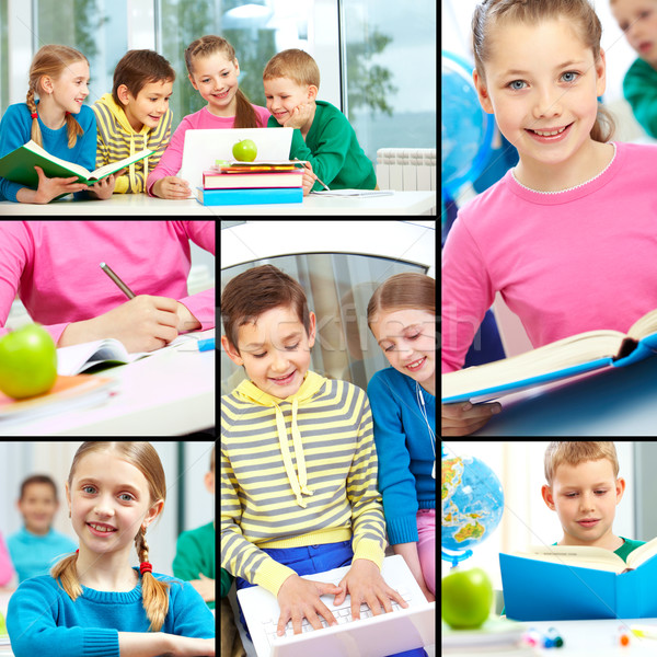 Beginners in school Stock photo © pressmaster