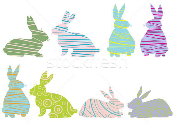 画像 創造 ウサギ 孤立した 白 デザイン ストックフォト © pressmaster