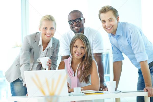 Team of students Stock photo © pressmaster