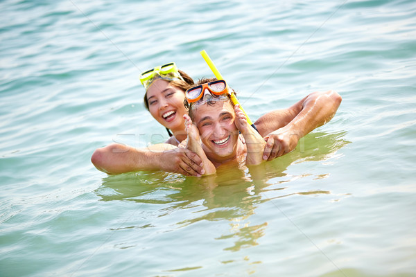 Fun in water Stock photo © pressmaster