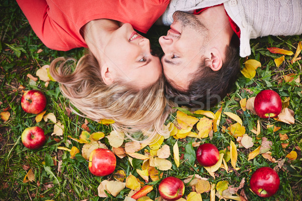 Autumn romance Stock photo © pressmaster