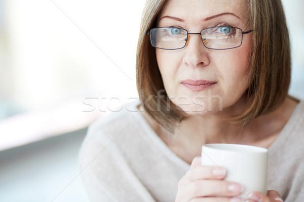 Woman in eyeglasses Stock photo © pressmaster