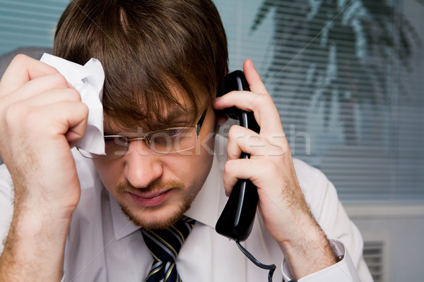 Overworked Stock photo © pressmaster