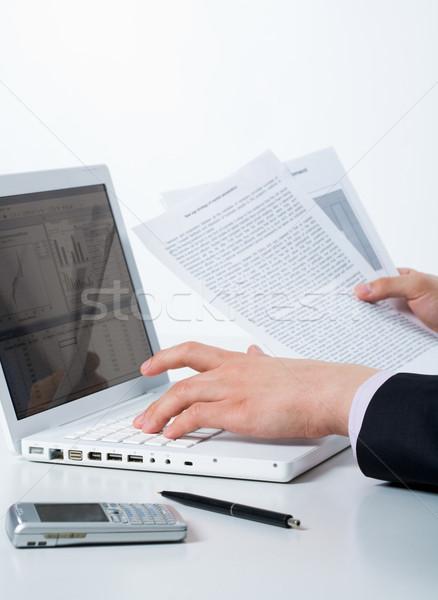 Stock fotó: Tervez · közelkép · férfi · kezek · kisajtolás · kulcsok