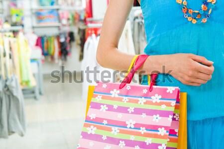 I shall pay by card Stock photo © pressmaster