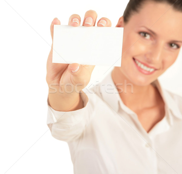 Business card   Stock photo © pressmaster