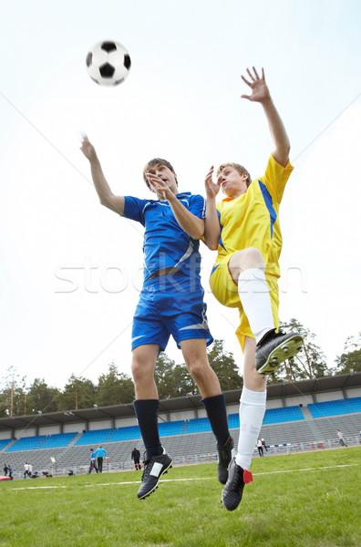 Catching ball Stock photo © pressmaster