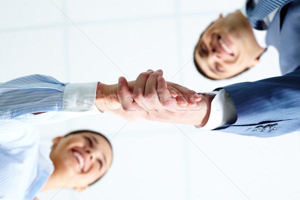 Acuerdo ángulo exitoso negocios Foto stock © pressmaster