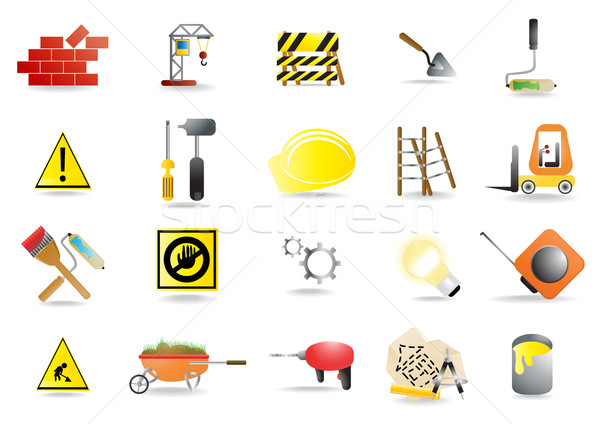 homebuilding tools Stock photo © pressmaster