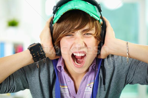 Emotional teenager Stock photo © pressmaster
