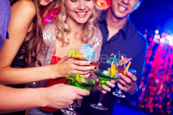 At party Stock photo © pressmaster