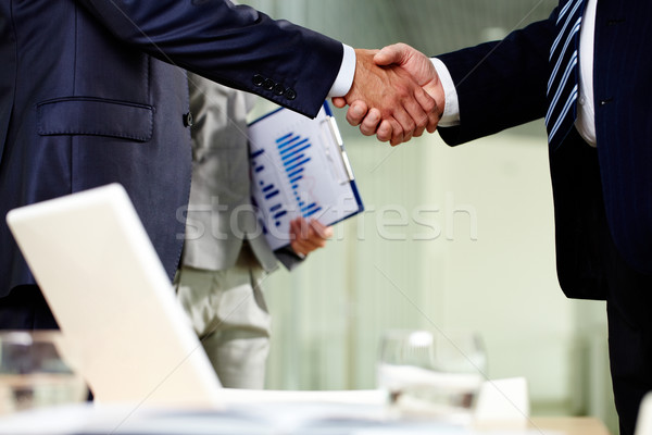 Contract of cooperation Stock photo © pressmaster