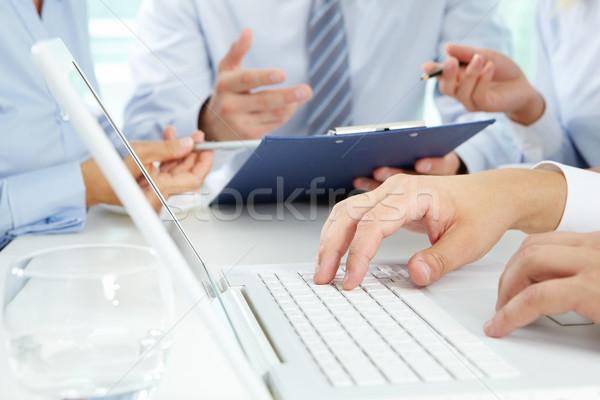 Typing Stock photo © pressmaster