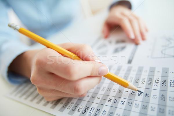 Accounting Stock photo © pressmaster
