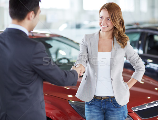 Buying a car Stock photo © pressmaster