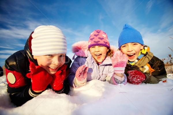 Enjoying winter Stock photo © pressmaster