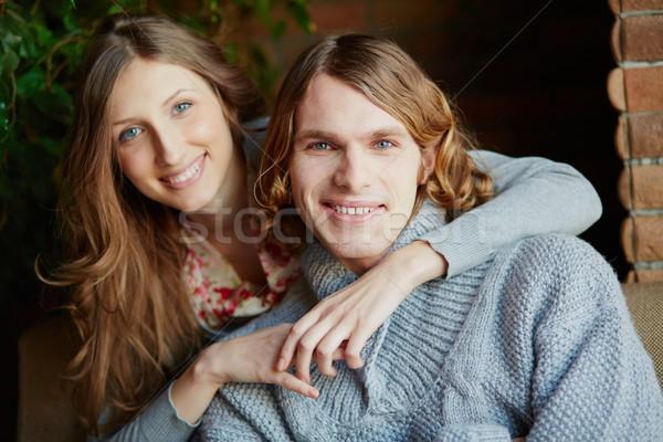 親熱 情侶 肖像 戀愛的 家庭 商業照片 © pressmaster