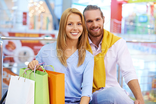 Stock photo: Successful shopping