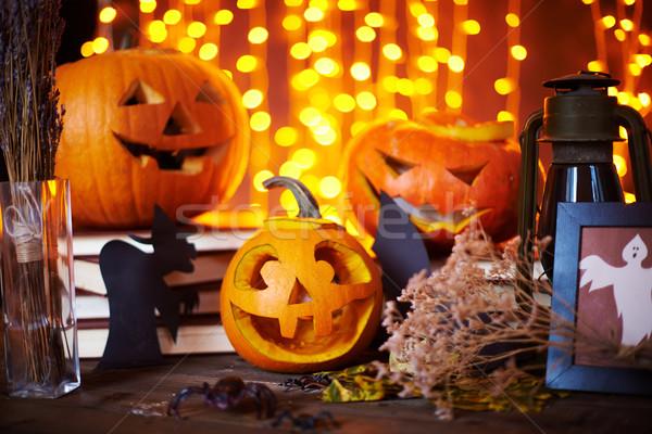 Symbols of Halloween Stock photo © pressmaster