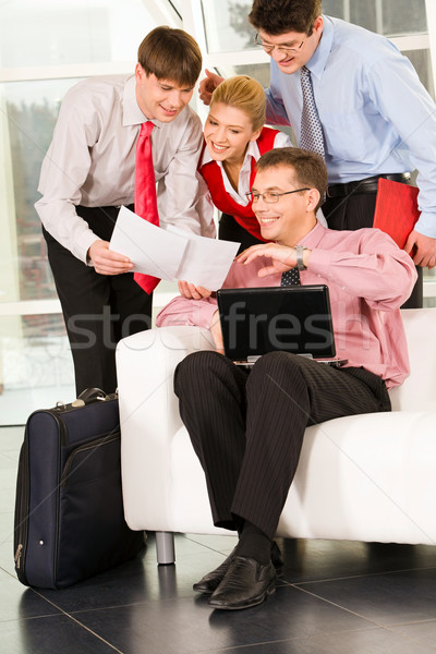 Stock photo: Demonstration