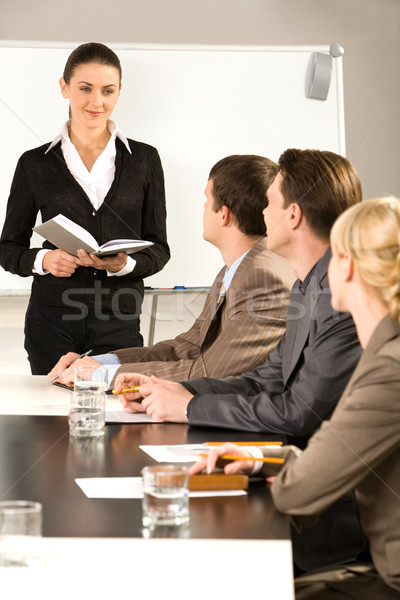 Business training Stock photo © pressmaster