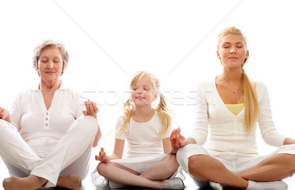 Meditating  Stock photo © pressmaster