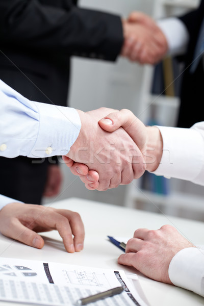 Stock photo: Business gesture