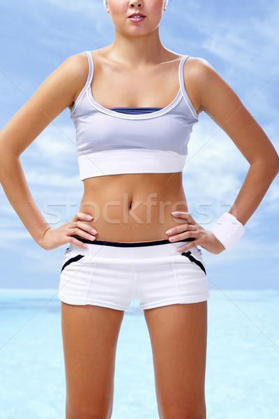 Sporty female Stock photo © pressmaster