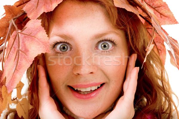 Miss autumn  Stock photo © pressmaster