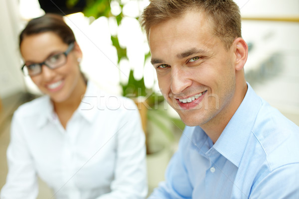 Successful business workers Stock photo © pressmaster