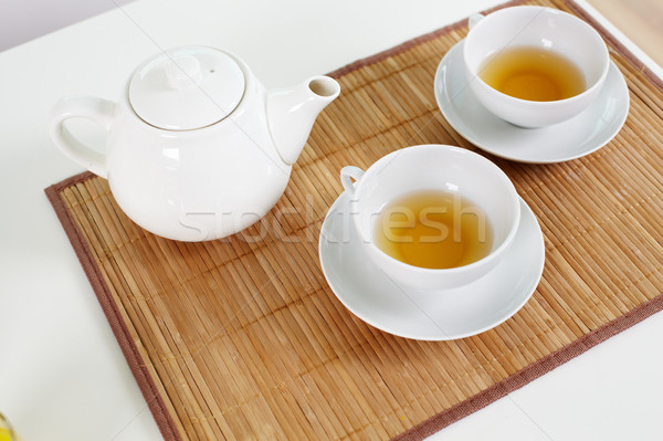 Stock photo: Tea for two