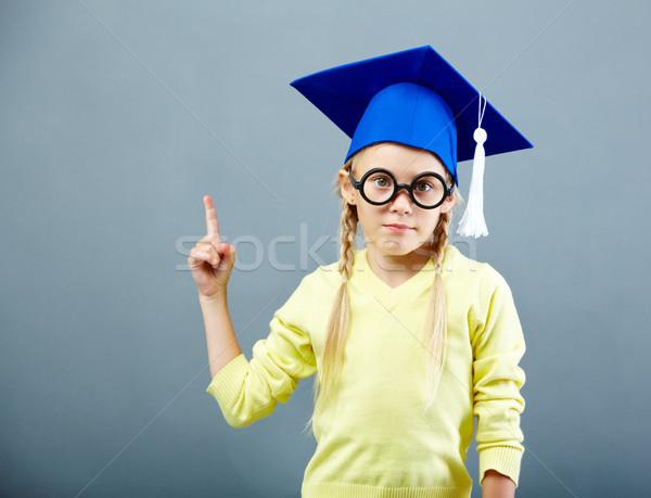Gesturing learner Stock photo © pressmaster