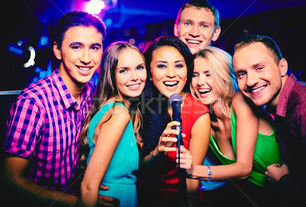 Singing together  Stock photo © pressmaster