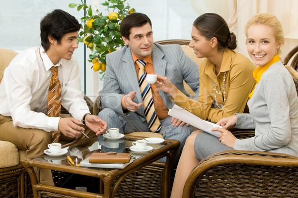 Iş toplantısı portre başarılı insanlar ofis Stok fotoğraf © pressmaster
