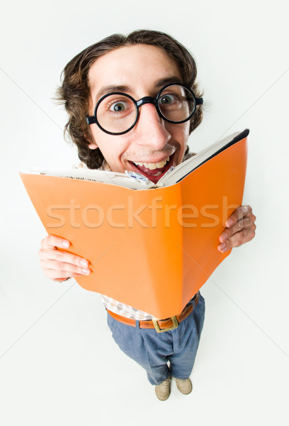 Clever student Stock photo © pressmaster