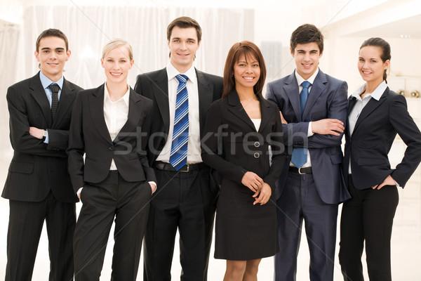 üzleti csoport portré okos üzletemberek áll egyéb Stock fotó © pressmaster