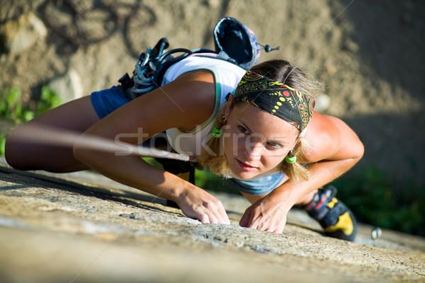 Climber Stock photo © pressmaster