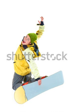 Skillful teenager Stock photo © pressmaster