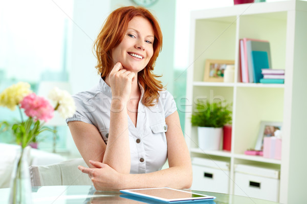Red-haired beauty Stock photo © pressmaster