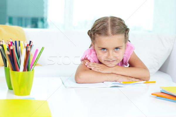 Cute preschooler Stock photo © pressmaster