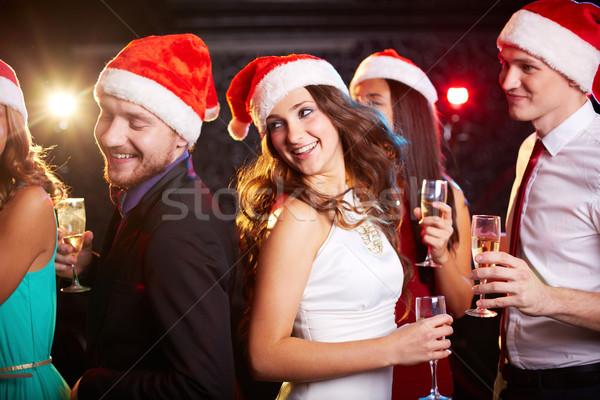 Dancing Santas Stock photo © pressmaster