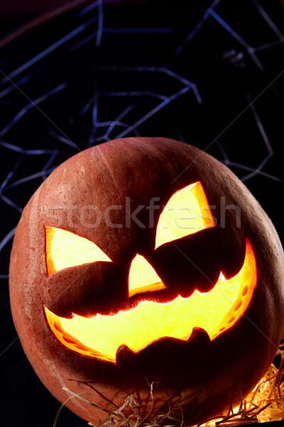 Pumpkin head Stock photo © pressmaster