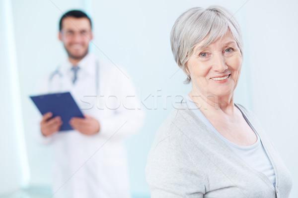 Elderly patient Stock photo © pressmaster